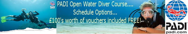 Learn to Dive PADI Open Water with Plymouth Diving Centre