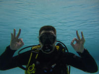 Open Water DIver Pool Diving